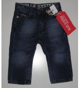 Jeans Blue System Red