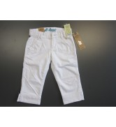 Broek 3/4 wit extra stiksels